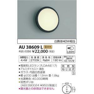 AU38609L コイズミ ポーチライト LED(電球色) (AU38611L 類似品) e-connect
