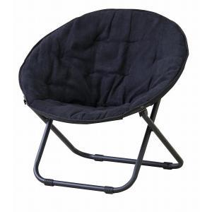 (メーカー直送) RKC-530BK 東谷 ソーサーチェアー 椅子 イス ブラック|e-connect