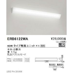 ERB6122WA 遠藤照明 ブラケットライト (ユニット別売) L1200 LED