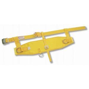 ツヨロン 傾斜面作業用ベルト 重作業用 安全帯 軽量型 イエロー 藤井電工 A-2|e-connect