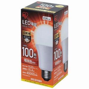 アイリスオーヤマ LED電球 E26 広配光 100形相当 電球色 LDA15L-G-10T4 (567797)|e-connect