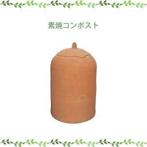 (メーカー直送) 素焼コンポスト おしゃれ ガーデン ガーデニング 09008 ジャービス商事 JARBIS|e-connect