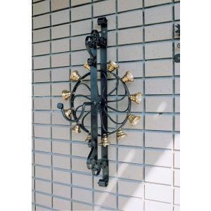 (メーカー直送) 回転ベル 鐘 壁掛け 壁付け おしゃれ ガーデン ガーデニング 28701 ジャービス商事 JARBIS|e-connect