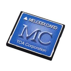 MC-1010 TOA メロディクスカード 学校向け