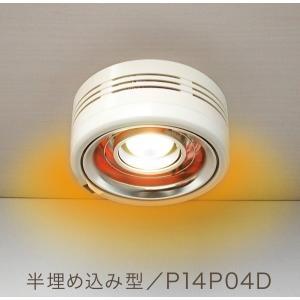 ポカピカ2 P14P04D PAAG 半埋め込み型 ヒーター一体型 天井照明 カーボンヒーター トイレ 脱衣所 暖房 パアグ|e-connect