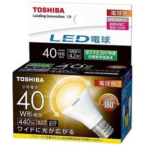 LDA4L-G-E17/S/40W 東芝 LED電球 ミニクリプトン形 LED(電球色)