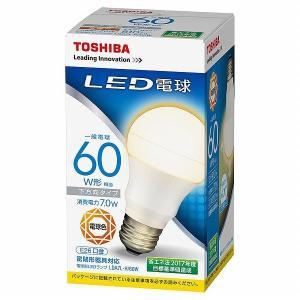 (在庫有 即納) LDA7L-H/60W 東芝 LED電球 一般電球形 LED(電球色) LDA9L-H-GU LDA6L-Hの後継品