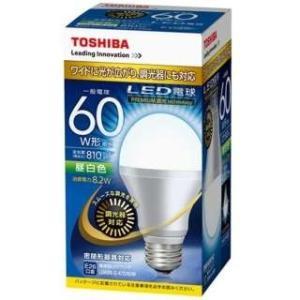 LED電球 一般電球形 LDA8N-G-K/D/60W 東芝 LED(昼白色)