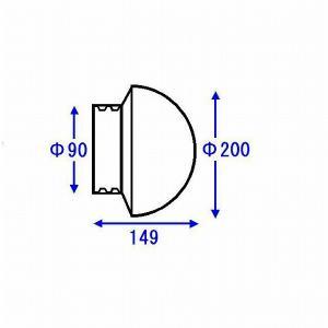 AFKK024 TOTO 照明器具 ワン型照明グローブ|e-connect