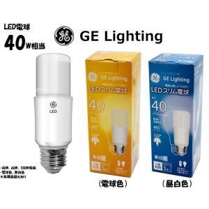 GE LIGHTING ブライトスティック T型LED電球 40W形  白熱電球、電球形蛍光灯(FD...