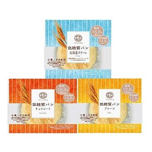 ピアンタ カットアンドスリム 低糖質パン 3種各4個セット(計12個)   『送料無料(離島・沖縄は別途送料)』|e-convini
