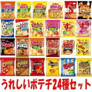 カルビー湖池屋フリトレーハウススナック菓子24種各1袋セット 『送料無料(沖縄・離島除く)』