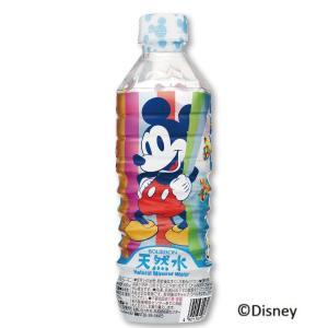 ブルボン ミッキーマウス 天然水 500ml 1ケース(24本) 『送料無料(沖縄・離島除く)』|e-convini