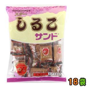 赤いしるこ碗のプリントが目印! 個包装タイプのしるこサンドです。   北海道産あずきとリンゴジャム、...