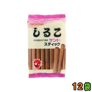 「しるこサンドスティック」は、北海道産あずき使用のスティックタイプのビスケット菓子です。 あずきとビ...