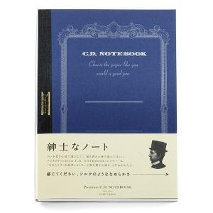 紳士なノート A5 Premium C.D. NOTEBOOK (シルキー) アピカ【ゆうパケットA選択可】|e-daido