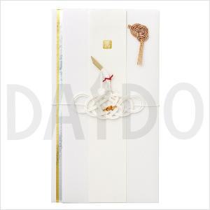 ご祝儀袋 「スタイリッシュ ツル 鶴」 オシャレ のし袋 金封 結婚祝い 【ゆうパケットA選択可】|e-daido