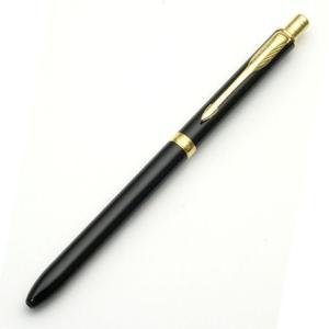 パーカー ソネットオリジナル マルチファンクションペン (ラックブラックGT) 多機能ペン|e-daido