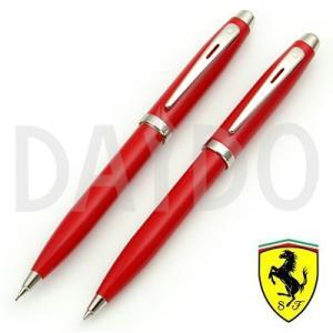 シェーファー ボールペン シャープペン 2本セット フェラーリ100 (ロッソコルサ)|e-daido