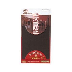 ホームケア コニシ フェルトシート 濃茶 HF-03