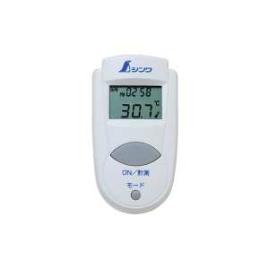 シンワ測定 放射温度計 A ミニ 時計機能付 放射率可変タイプ 73009