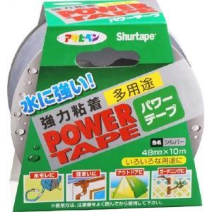 アサヒペン 補修用テープ パワーテープ 48mm×10m シルバー T101