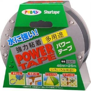 アサヒペン 補修用テープ パワーテープ 48mm×25m シルバー T251