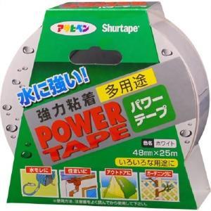 アサヒペン 補修用テープ パワーテープ 48mm×25m ホワイト T252