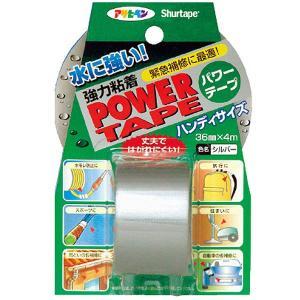 アサヒペン 補修用テープ パワーテープ 36mm×4m シルバー T041