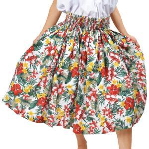 JB75220 フラ シングル パウスカート フラダンス スカート ダンススカート フラ パウ 衣装 フラスカート