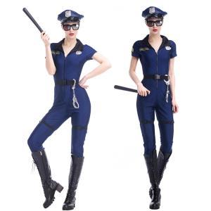 ハロウィン コスプレ 警察  婦人 警官 婦警 仮装 制服 レディース クリスマス イベント パーティーグッズ|e-dance