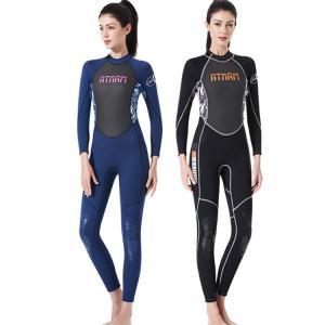 ウェットスーツ 大人 女 男  オールインワン水着 長袖 紫外線対策 ストレッチ 柔軟 速乾  カラーマチング 体型 セックス 漂流 ダイビング|e-dance