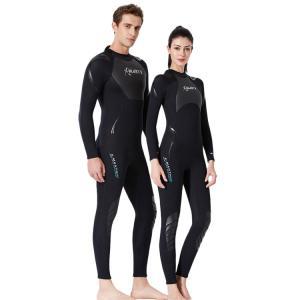 スイムスーツ 大人 女 男 オールインワン水着 長袖 UPF50+ 速乾 ストレッチ 柔軟  カラーマチング 通気性 吸湿 カジュアル swim|e-dance