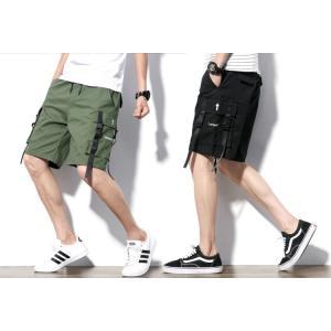 ハーフパンツ メンズ(M-5XL)ワード ショート カジュアル ビーチパンツ e-dance