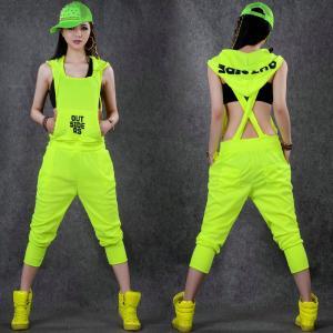 ジャズダンス  一体化服 レディース ファッション ストリートダンス お買い得 ダンス衣装 ボリュームたっぷり 派手 e-dance