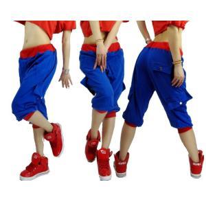 ジャズダンス ロングパンツ レディース ファッション ストリートダンス お買い得 ダンス衣装 ボリュームたっぷり 派手 ダンス衣装|e-dance