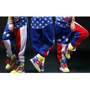 ジャズダンス ロングパンツ サルエルパンツ レディース ファッション ストリートダンス お買い得 ダンス衣装 ボリュームたっぷり 派手 ダンス衣装|e-dance