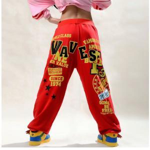 ロングパンツ ジャズダンス レディース ファッション ストリートダンス お買い得 ダンス衣装 ボリュームたっぷり 派手 ダンス衣装|e-dance