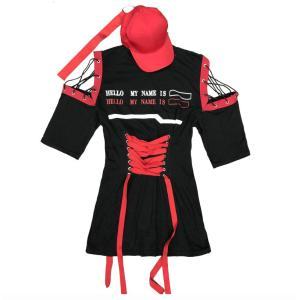 長袖 ワンピース ジャズダンス  レディース ファッション ストリートダンス お買い得 ダンス衣装 ボリュームたっぷり 派手 ダンス衣装|e-dance
