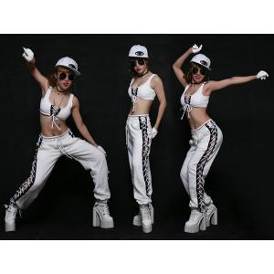 タンクトップ 社交ダンス?DS JAZZ ダンスウェア ファション ダンス 衣装 ガールズ スチューム ステージ衣装 発表会|e-dance