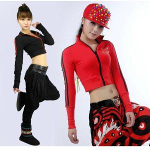 ジャンパー パーカー ジャズダンス  レディース ファッション ストリートダンス お買い得 ダンス衣装 ボリュームたっぷり 派手 ダンス衣装|e-dance