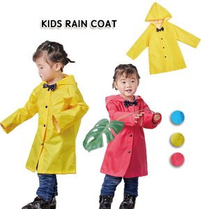 キッズレインコート ナイロン 柔軟 快適 鮮やか リボン ファッション 可愛い 防水 防水 キャンプ アウトドア 子供 男の子 女の子|e-dance