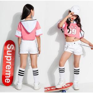 キッズ 子供服 tシャツ 半袖 ジュニア ダンス 衣装 ヒップホップ ジャズダンス ガールズ ボーイズ ヒップホップ|e-dance