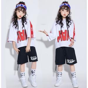 キッズ 子供服 tシャツ 半袖 ジュニア ダンス 衣装 ヒップホップ ジャズダンス ガールズ ボーイズ ヒップホップ