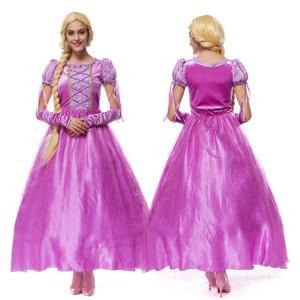 ハロウィン コスプレ ディズニー プリンセス ドレス ワンピース コスチューム 女性用 ハロウィングッズ  ハロウィンパーティー|e-dance