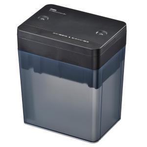 【法人様限定商品】オーム電機 SHR-M203-K 卓上マイクロカットシュレッダー ブラック [品番]00-5147 SHRM203K
