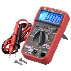 【特長】<br>● 電気製品の故障診断や、電池の寿命チェックに。コンパクトな多機能タイプ...