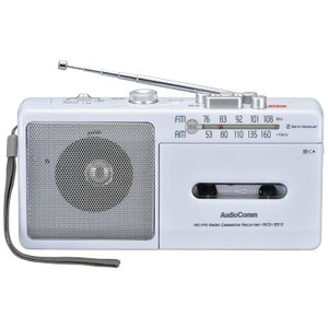 ラジカセ RCS-331Z AudioComm ラジカセ AM/FM オーム電機