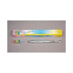 ジーシー(GC)歯科用 プロスペック 歯ブラシプラス フォーレッスン コンパクトスリム M 20本 歯ブラシ ふつう ハンドル色クリアー Fourlesson|e-dent