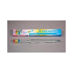 ジーシー(GC)歯科用 プロスペック 歯ブラシ フォーレッスン ヤング M 20本 歯ブラシ(ふつう)ハンドル色クリアー Fourlesson|e-dent